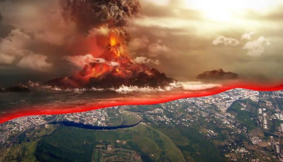SuperVulcano Campi Flegrei Napoli si sta riempiendo di Magma.
