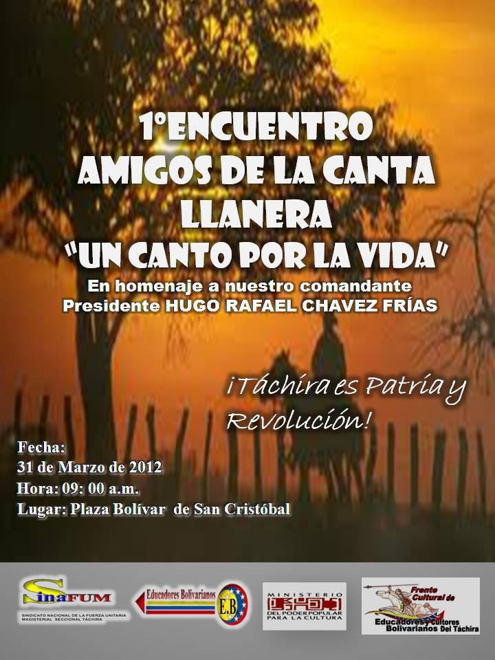 Gabinete Ministerial De La Cultura Táchira Marzo 2012