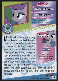MLP Maud Pie Series 4 Trading Card