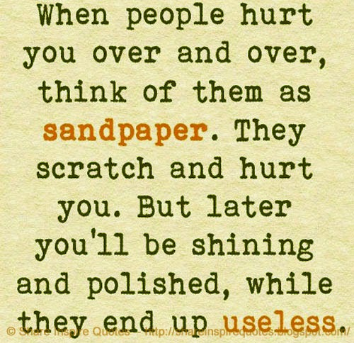 Quotes About Someone Hurting You Over And Over: When People Hurt You Over And Over, Think Of Them As
