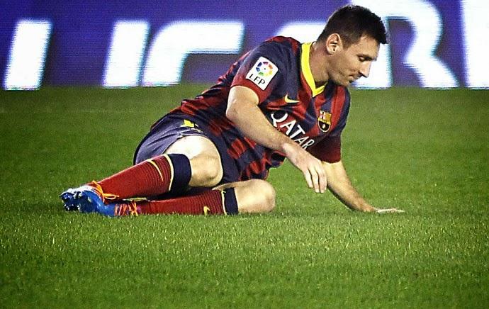 b73461ca4d Messi só regressa aos relvados em 2014 - Visão de Mercado