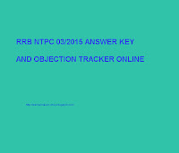 Railway has announced rrb ntpc result online and its answer key