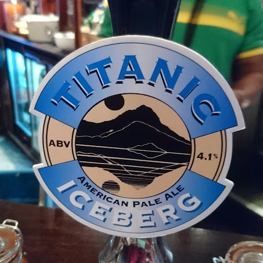 Staffordshire Craft Beer Review: Iceberg from Titanic