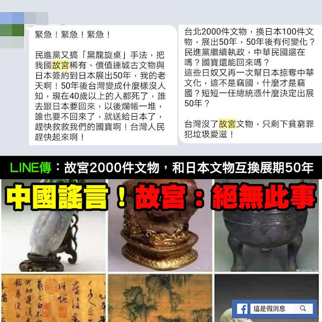 故宮 2000件文物 50年 謠言