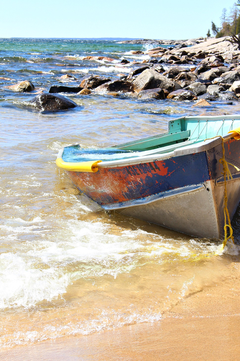 Old Boat on Lake Superior
