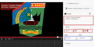 Anotasi, membuat teks dan Link ke Vidio lain di Youtube