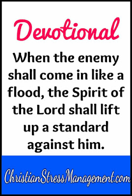 Devotional: When the enemy shall come in like a flood