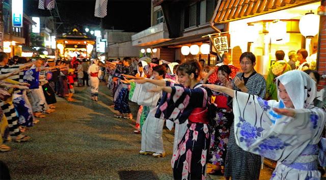Gujo Odori - Folk Dance Meet - at Hachiman-cho, Gujo, Gifu