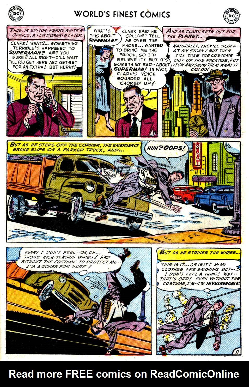 Read online World's Finest Comics comic -  Issue #68 - 13