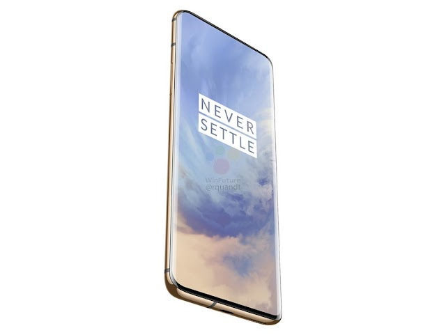 The new OnePlus 7 Pro phone features a supported HDR10 + screen with 4000 lumens per second and UFS 3.0 storage