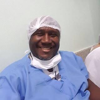 Irmão Lázaro no Hospital