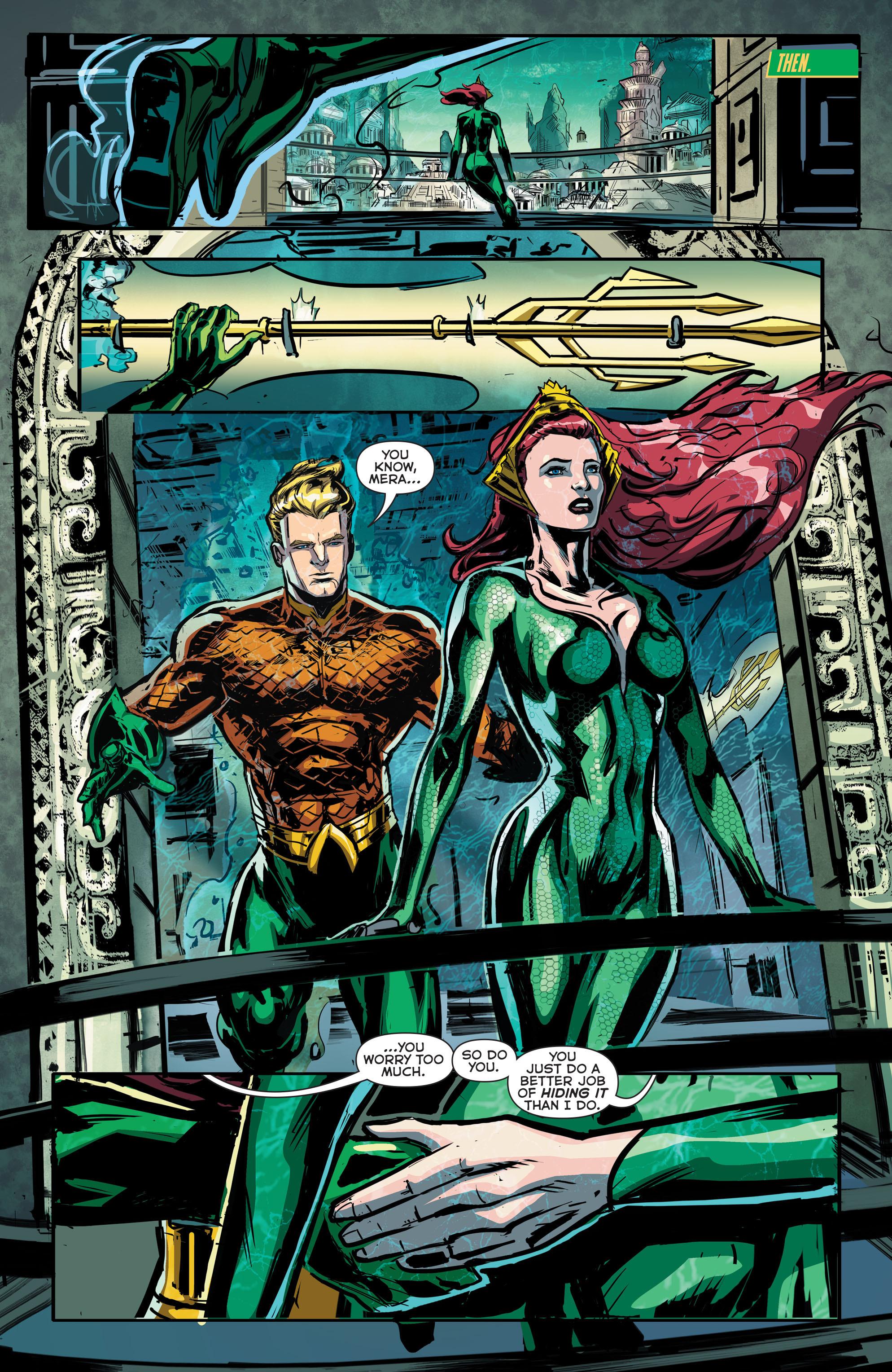 Read online Aquaman (2011) comic -  Issue #41 - 19