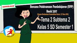 RPP Tematik Kelas 5 SD Tema 2 Subtema 2 Kurikulum 2013 Revisi 2017 Pentingnya Udara Bersih bagi Pernapasan
