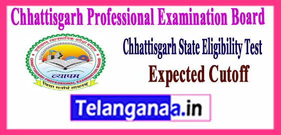 CG SET Chhattisgarh State Eligibility Test  Expected Cutoff 2017 Admit Card