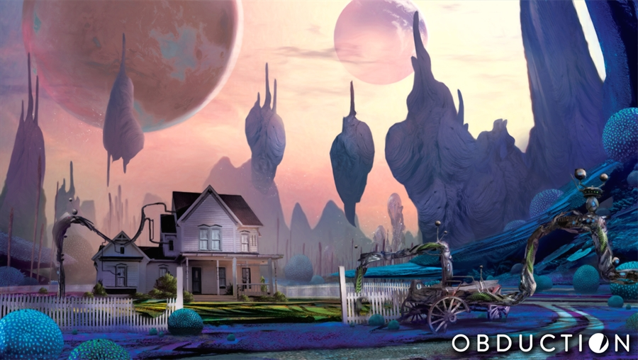 Obduction Game Free Download Poster