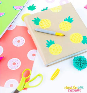 pineapple DIY school supplies