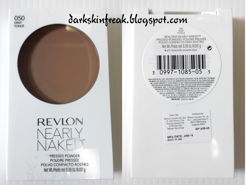 2 REVLON NEARLY NAKED PRESSED POWDER COMPACT, YOU PICK