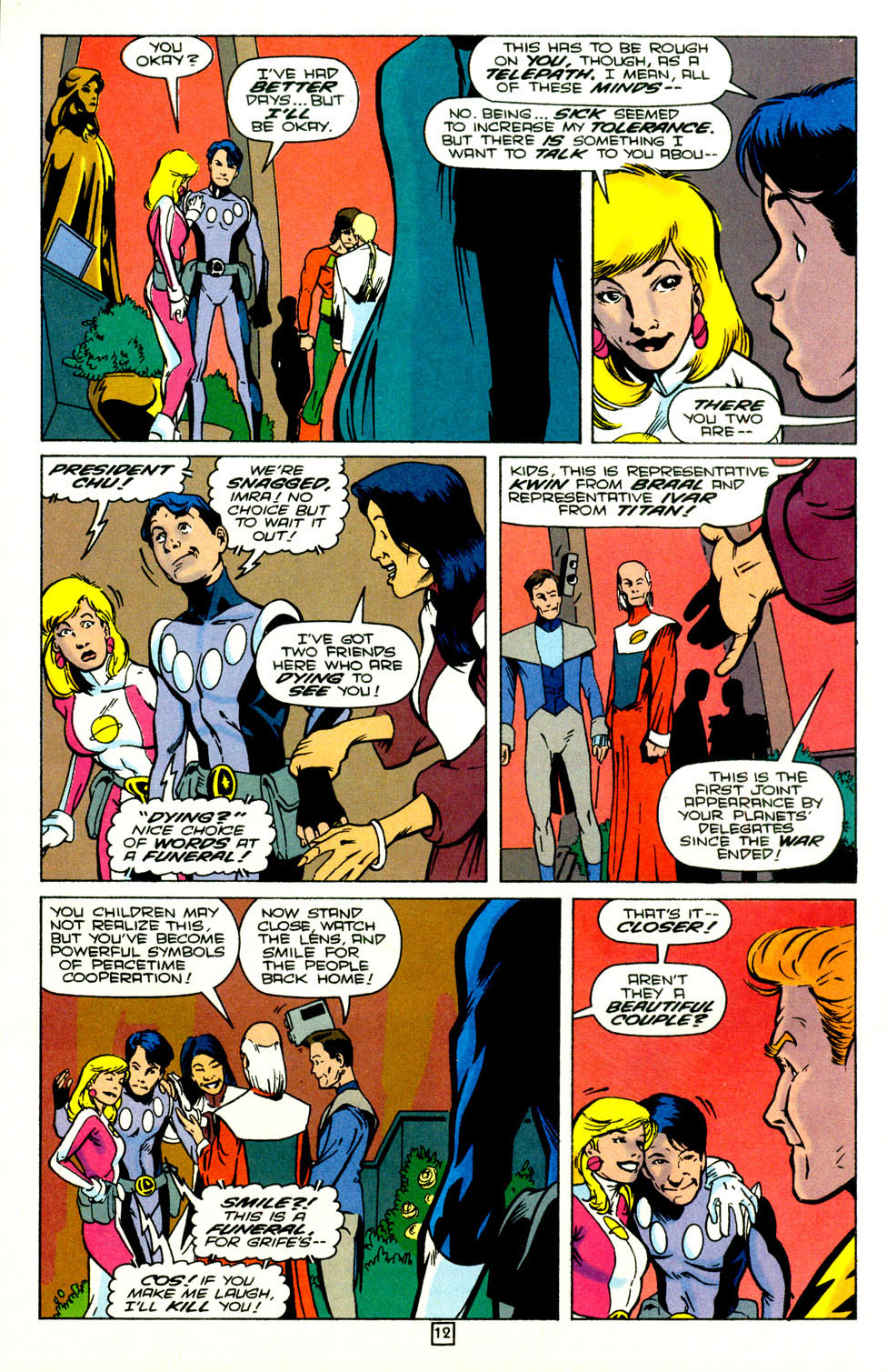 Legion of Super-Heroes (1989) 72 Page 13