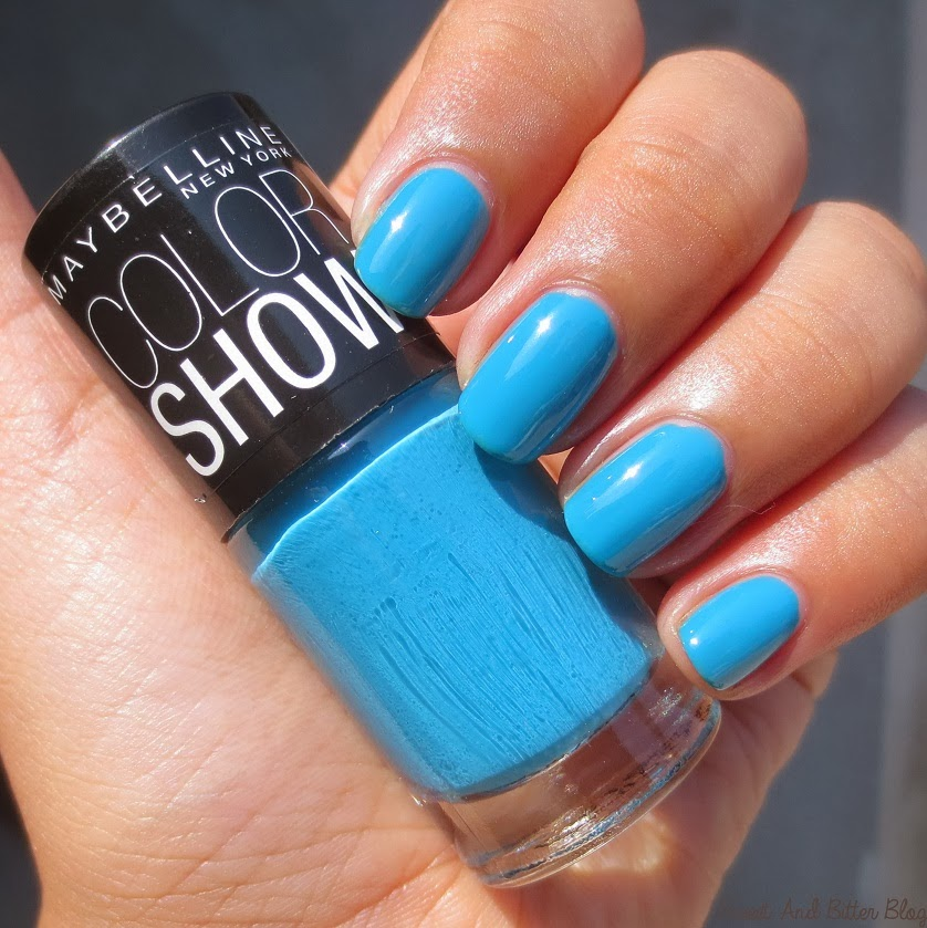 maybelline color show nail polish in india swatches 15 and more sweet and bitter blog. Black Bedroom Furniture Sets. Home Design Ideas