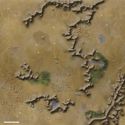 Mapas rol exterior yermo mutante