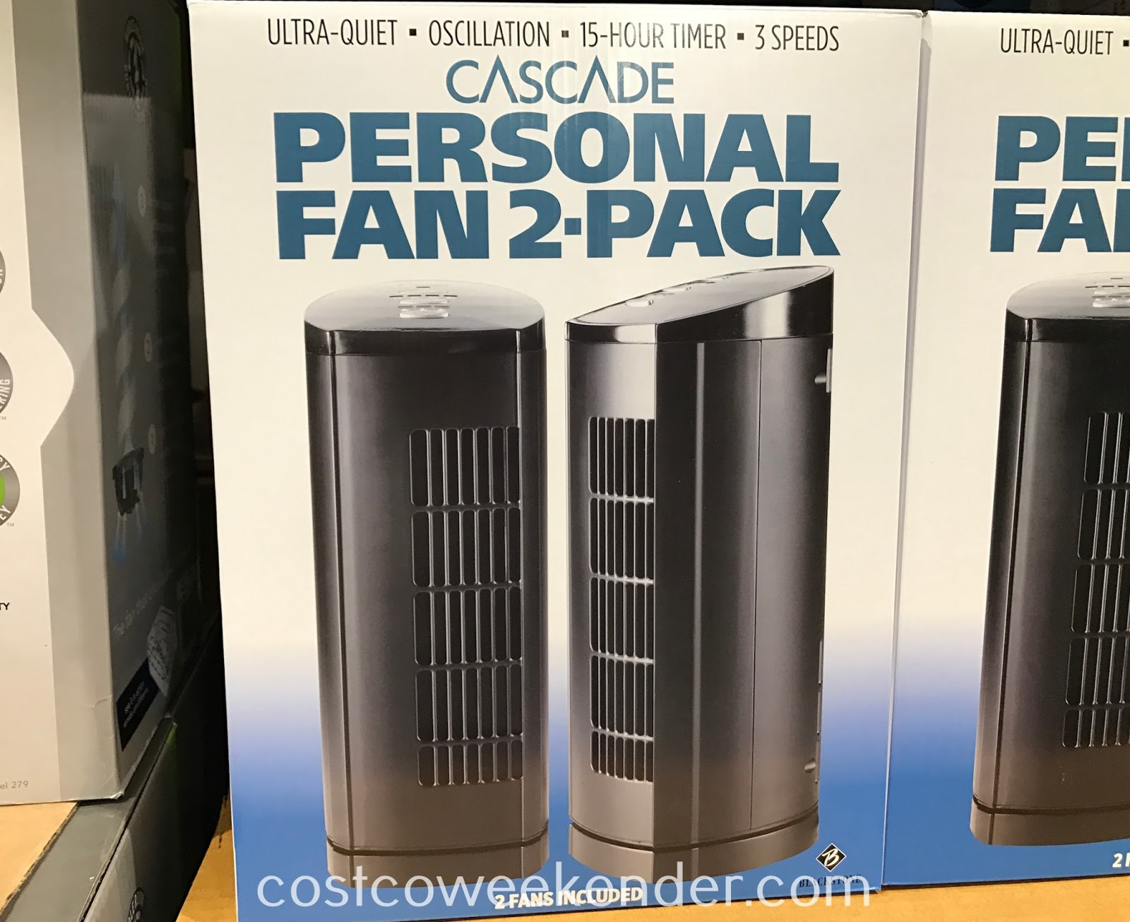 Stay cool this summer with the Blackstone Cascade Personal Fan