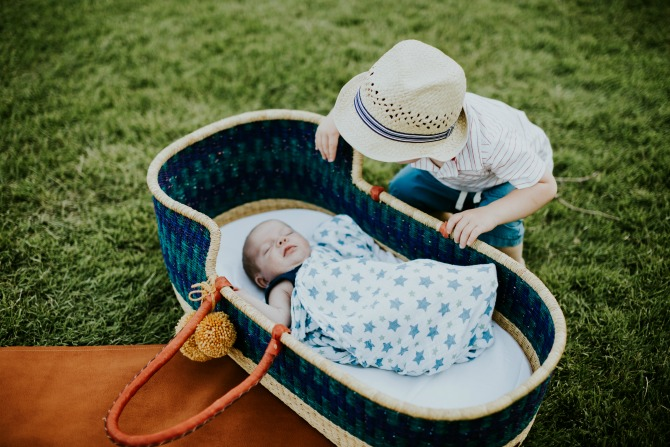 Preparing a toddler for the arrival of a new baby