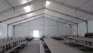tenda makan tenda area tambang