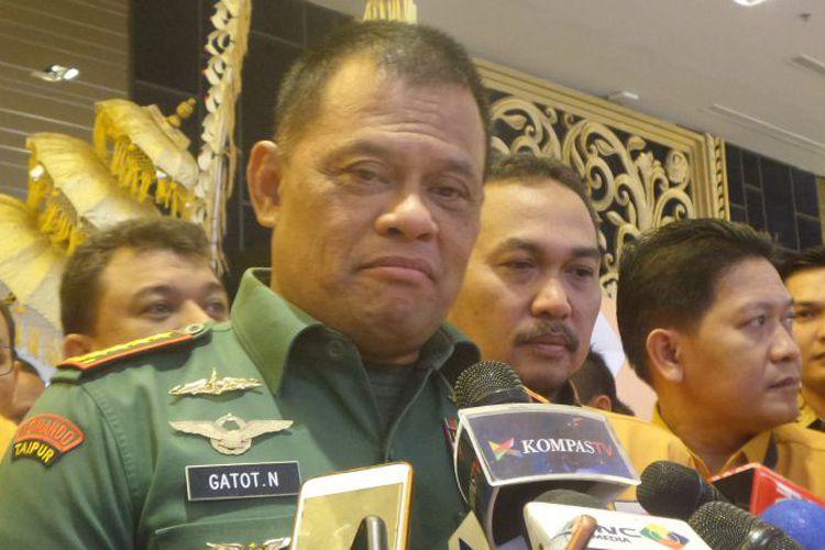Jenderal Gatot: TNI Diadu dengan Polri Supaya Kita tak Konsentrasi dengan Pembangunan