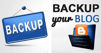 Buckup - και Επαναφορά Πρότυπου, Αναρτήσεων σε Blogger