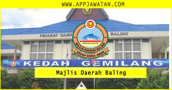 Iklan Jawatan Kosong Majlis Daerah Baling 2018