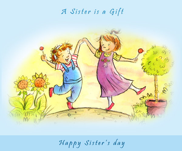 Happy Sister And Brothers Day: Free HD Desktop Wallpapers