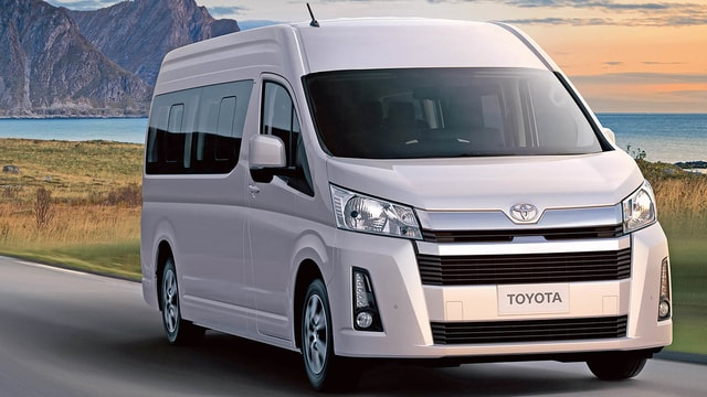 Toyota Hiace 2020 is now available in the new generation with advanced safety features and modern specifications