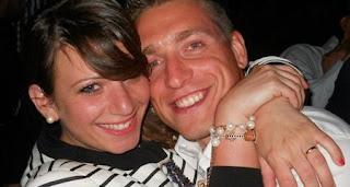 Emanuele Giaccherini e sua moglie Dania Gazzani