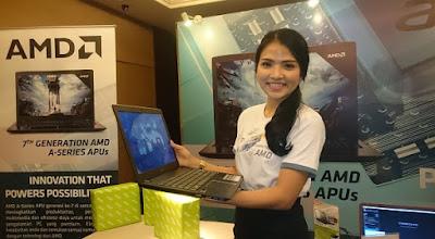 Acer Aspire E5-553G Prosesor AMD Generasi ke-7