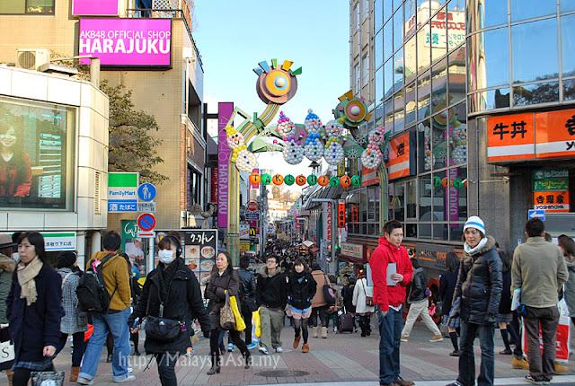 Picture of Takeshita Street