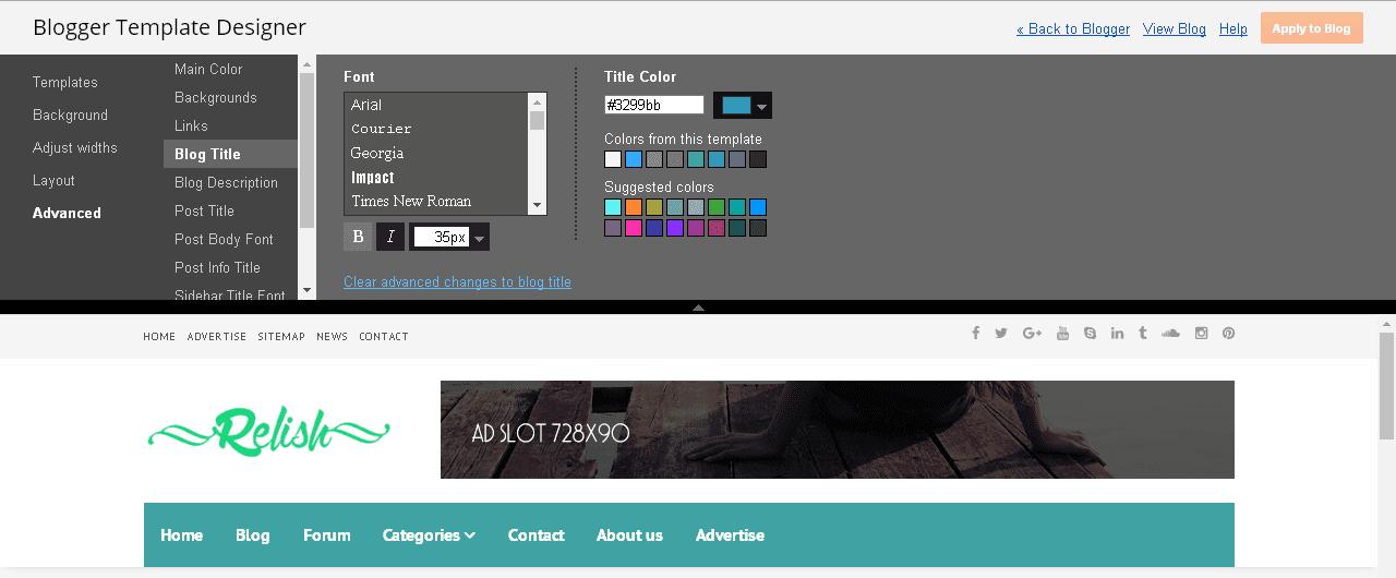 Relish 100+ Google Fonts options