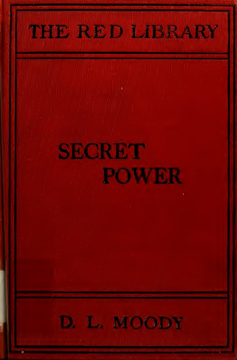 D. L. Moody-Secret Power-