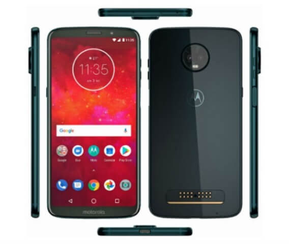 Moto Z3 Play Launched; SD 636, 4GB RAM, and Dual A.I. Cameras!