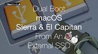 Dual Boot macOS Sierra & El Capitan from an External SSD