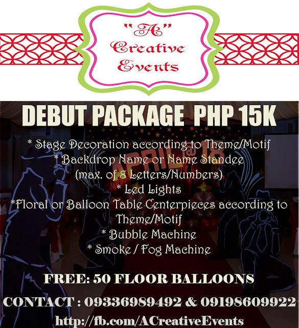 debut package Learn more about all the available manila marriott hotel wedding specials and packages while planning your manila wedding.