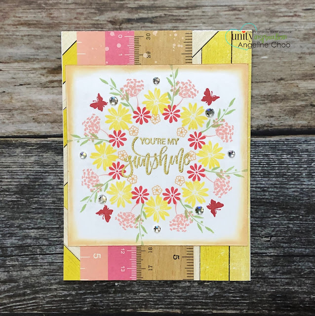 ScrappyScrappy: Unity Stamp & Gina K Wreath Builders #scrappyscrappy #unitystampco #ginakdesigns #wreathbuilder #card #cardmaking #altenewdyeink #altenew #wreath