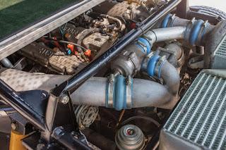 1985 Lancia Delta S4 Engine 01