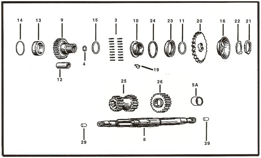 Flathead Engine Cutaway. Diagrams. Wiring Diagram Gallery
