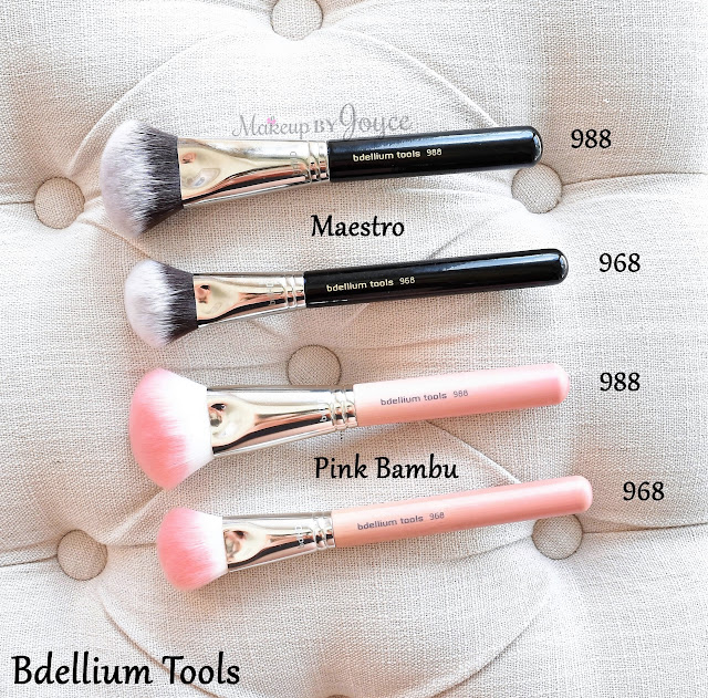 Bdellium Tools BDHD Brush Review Maestro Pink Bambu 988 968