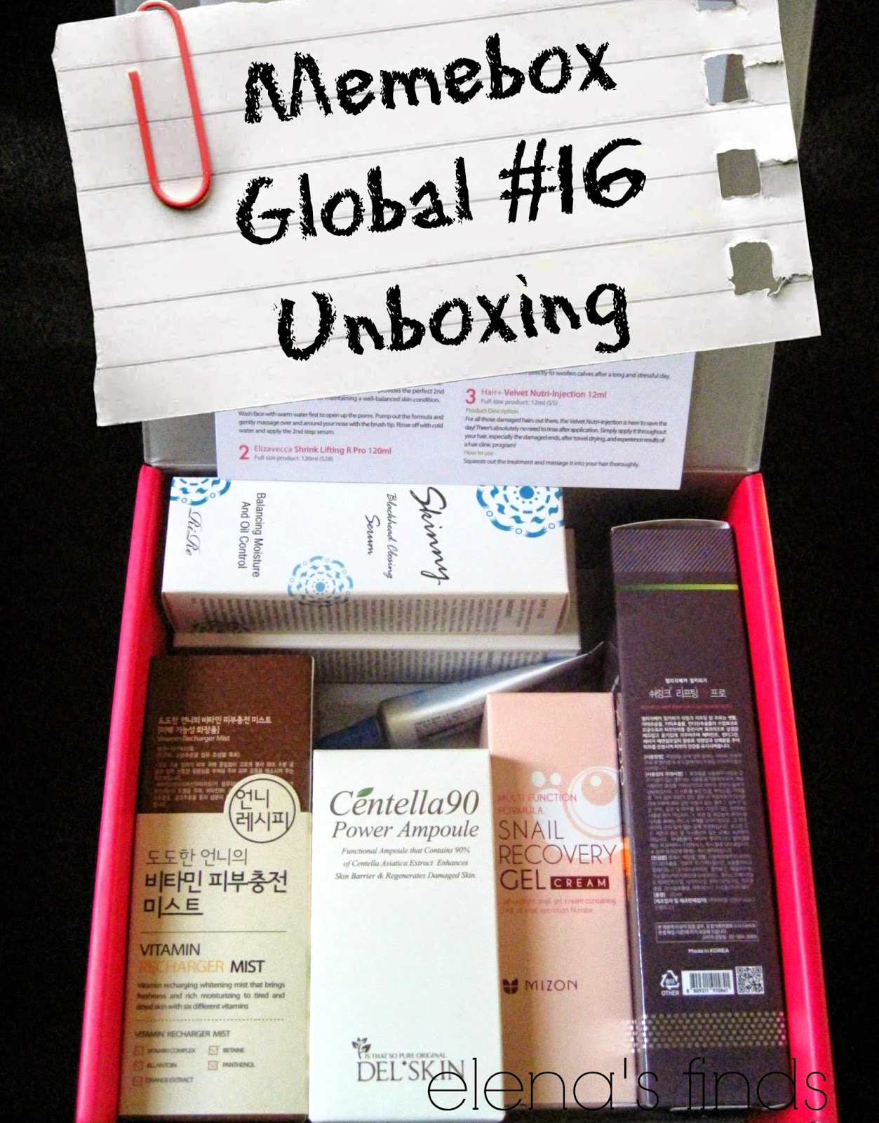Memebox Global  16 Unboxing  9e5ee506c2c