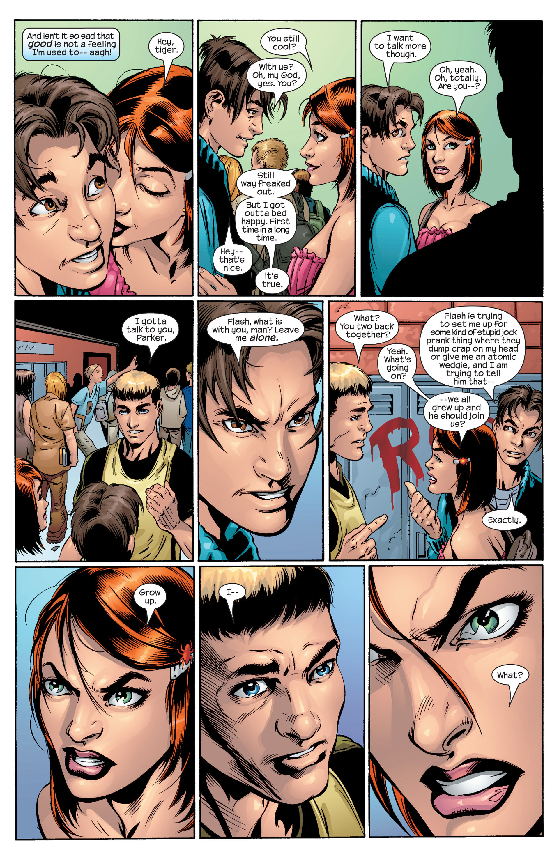 Read online Ultimate Spider-Man (2000) comic -  Issue #41 - 18