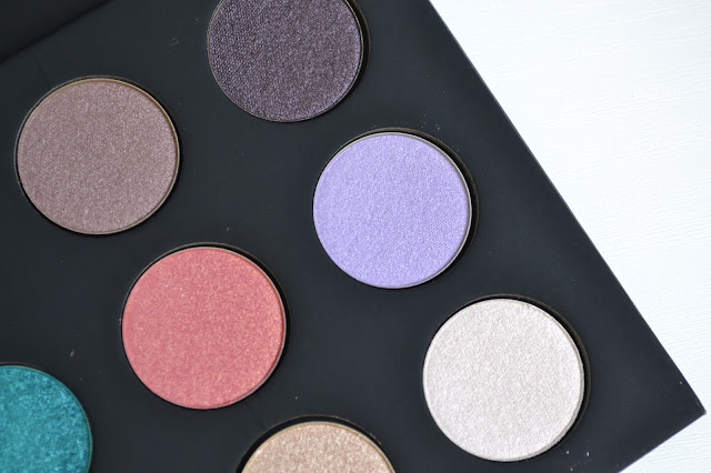 Make Up For Ever Artist Shadows 3 Palette Florals Review with Swatches