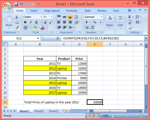 How to use the sumifs function step by step excel solutions lets look at some excel sumifs function examples and explore how to use the sumifs function as a worksheet function in microsoft excel ibookread Read Online