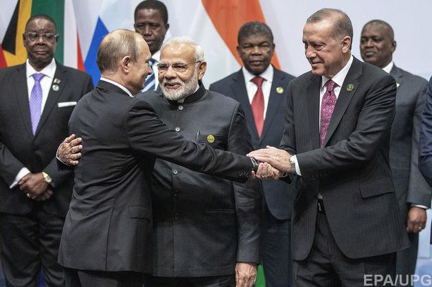 Ердоган закликав членів БРІКС прийняти Туреччину в свою групу