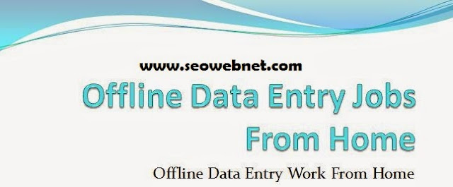 Genuine And Legit Offline Data Entry Jobs Data Entry Work From Home